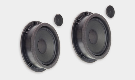 Audi A5 - SPC-100AU 2-way High-end Front Speaker System Upgrade