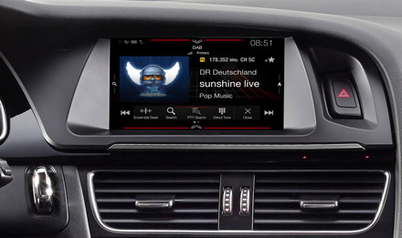 Audi A5 - DAB Digital Radio - X703D-A5