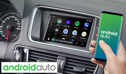 Audi Q5 - Works with Android Auto - X703D-Q5