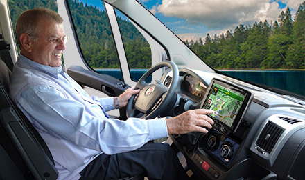 Ducato, Jumper and Boxer - Easy to reach from the driver's seat - X901D-DU