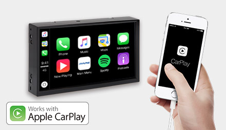 Freestyle - Works with Apple CarPlay - X702D-F
