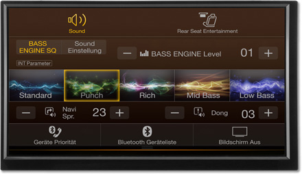 Bass Engine SQ Sound tuning - Navigation System X703D-F