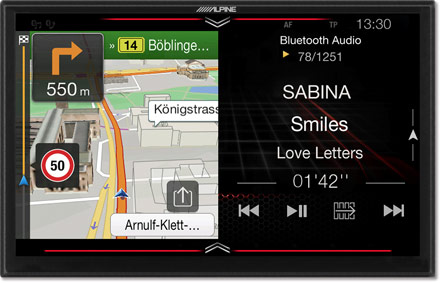 Freestyle - Navigation - One Look Display  - X902DC-F