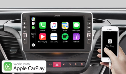 Iveco Daily - Works with Apple CarPlay - X902D-ID
