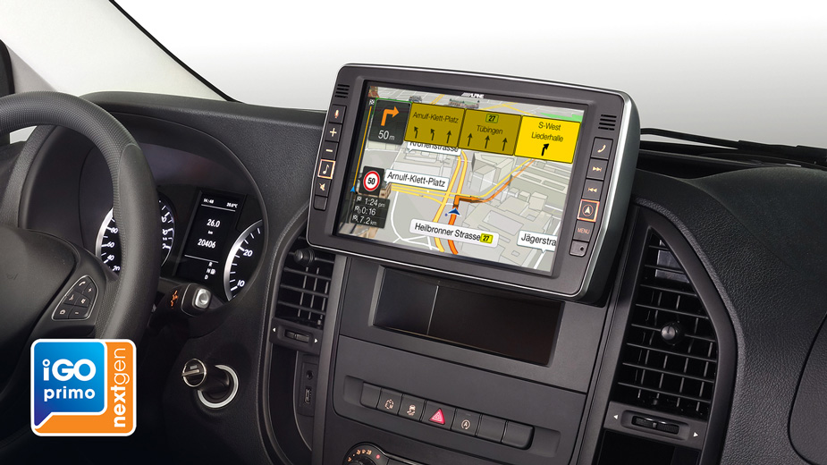 Alpine Style Navigation Designed for Mercedes Vito - X902D-V447