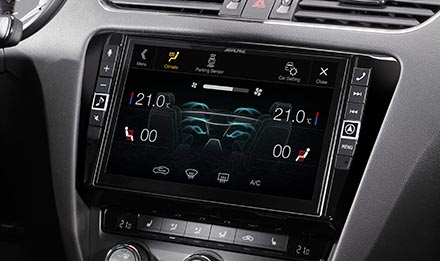 Skoda Octavia 3 - Air Condition Display - X903D-OC3