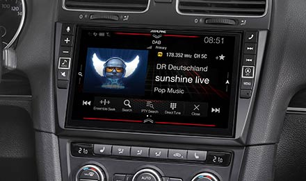 Golf 6 - DAB Digital Radio - i902D-G6